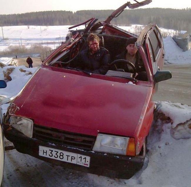 Сделал кабриолет (4 фото)