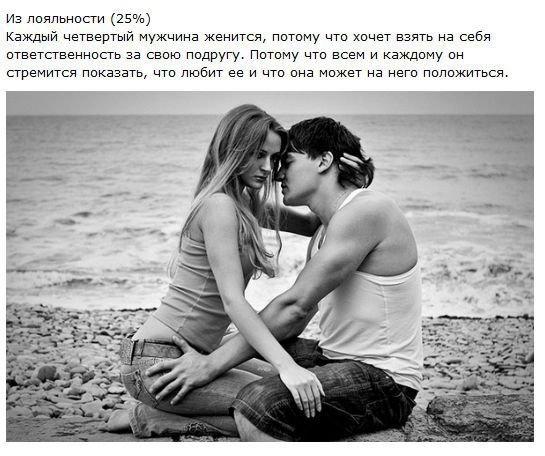 Почему женятся мужчины (15 фото)