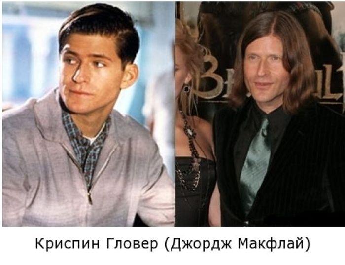 Актеры из фильма Назад в будущее (6 фото)