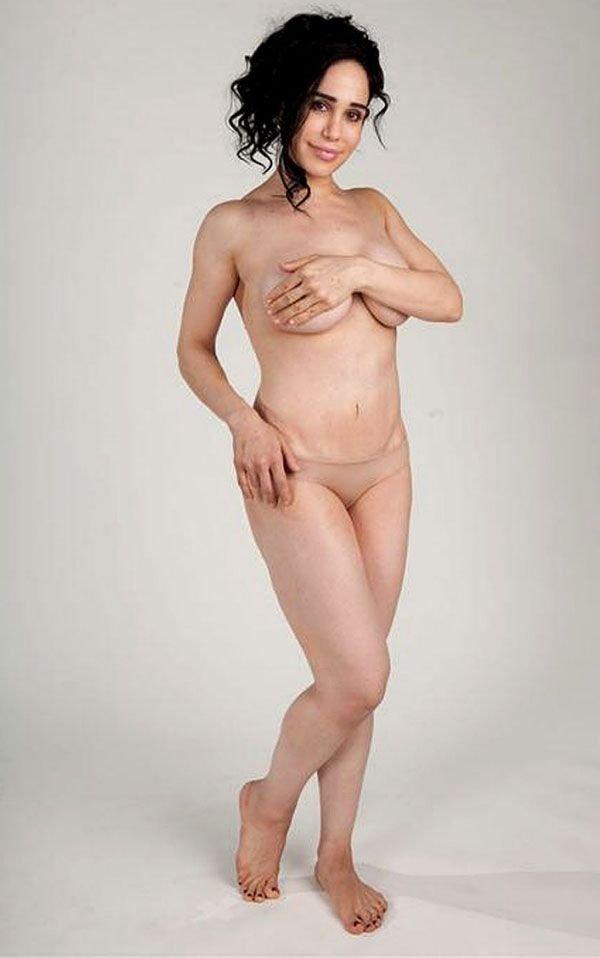 Надя Сулейман - женщина, родившая 8 близнецов (5 фото)