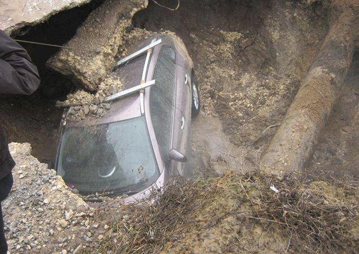 Подземная ловушка (5 фото)