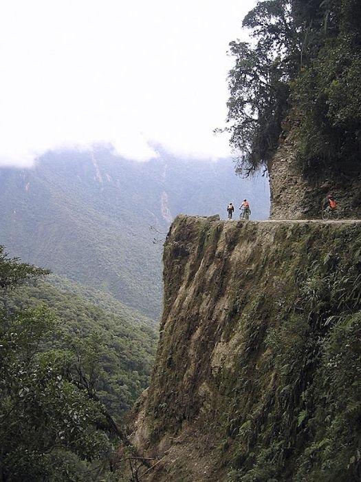 Опасные дороги (91 фото)