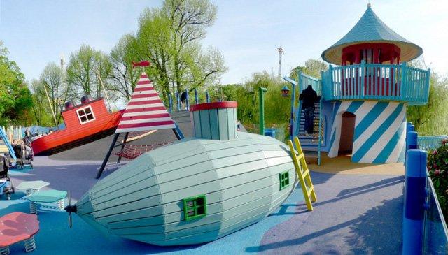 Детские площадки датской фирмы Monstrum (9 фото)
