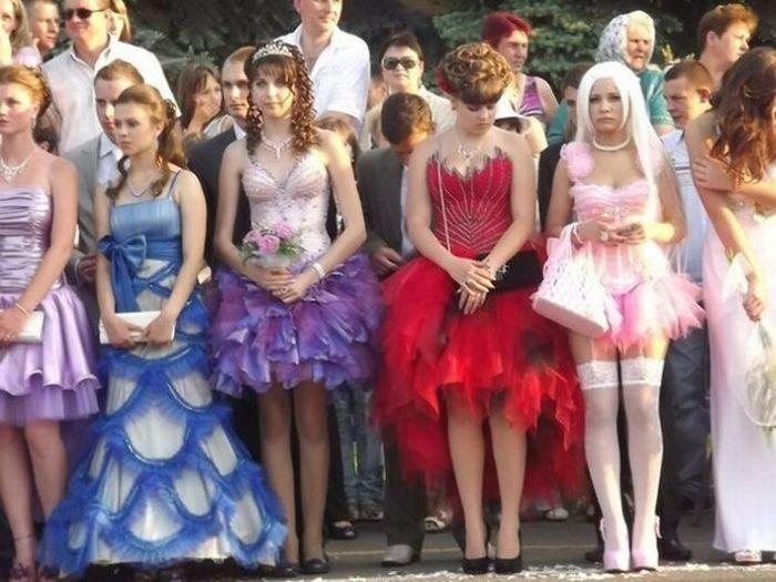 Необычное платье на выпускной. Часть 2 (6 фото)