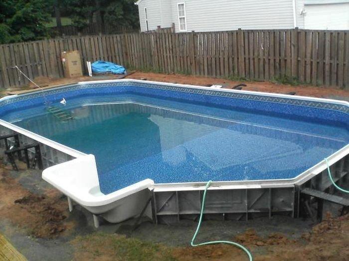 Бассейн на заднем дворе (38 фото)