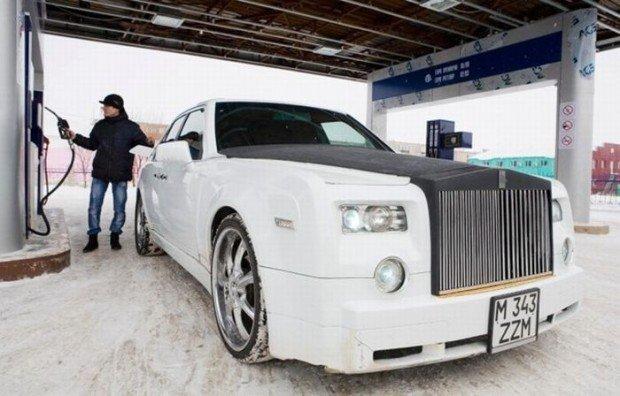 Rolls-Royce из старого Мерседеса (16 фото)