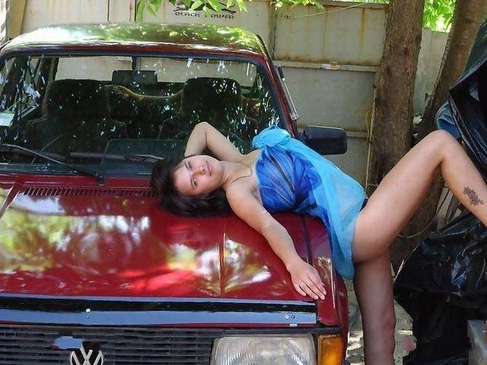 Оригинальный способ продать автомобиль (13 фото)