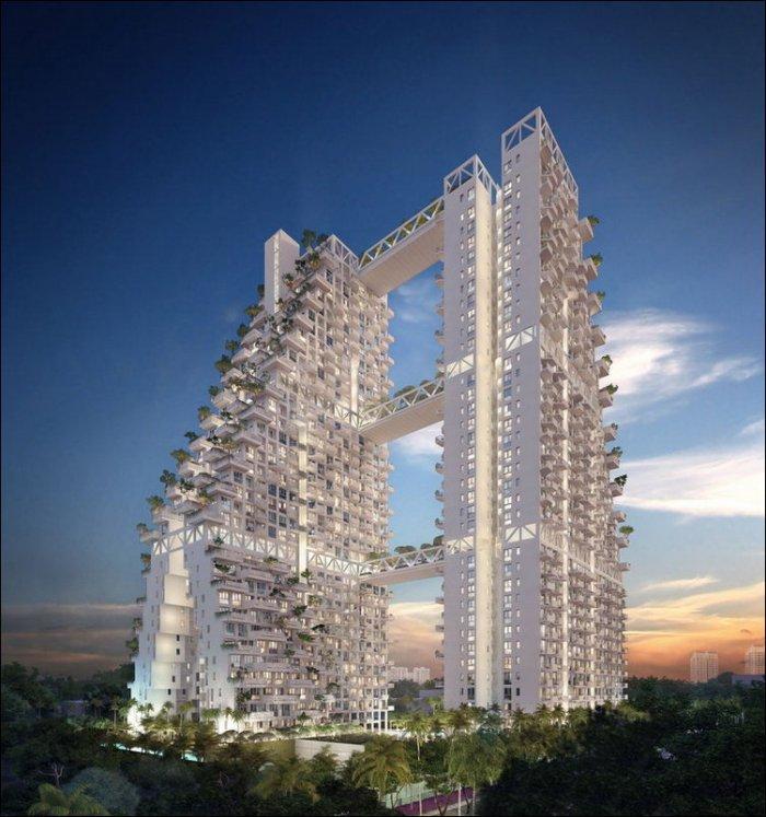 Жилой комплекс Sky Habitat (16 фото)
