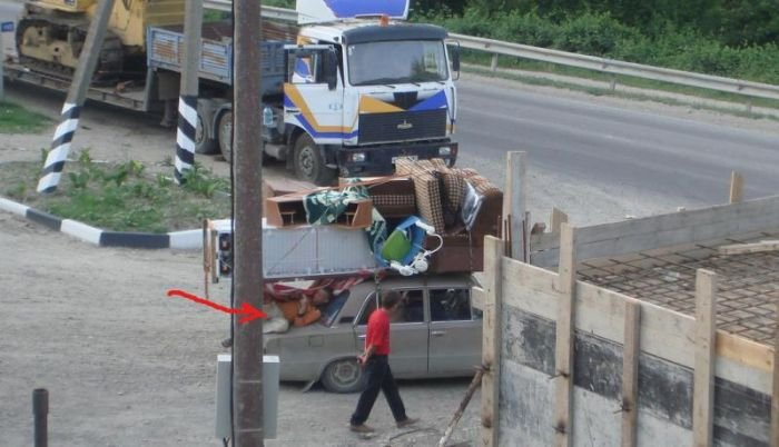 Перевозка на грани (4 фото)