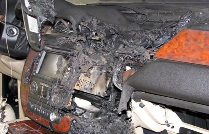 Взрыв навигатора (5 фото)