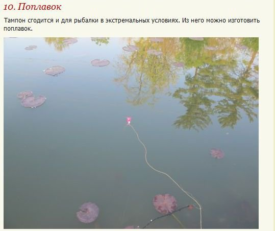 Многофункциональный тампон (18 фото)