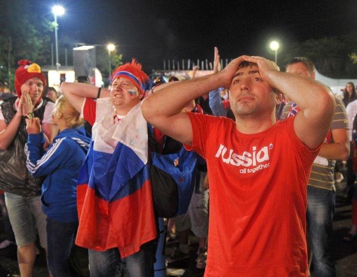 Сборная России вылетела с Евро 2012 (36 фото)