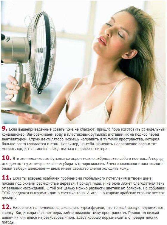 Как справиться с жарой (3 фото)