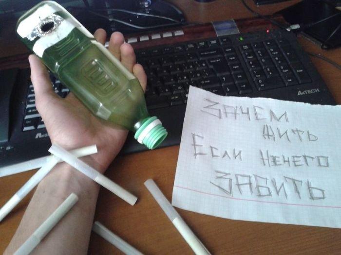 Стеб с подростка-самоубийцы (40 фото)