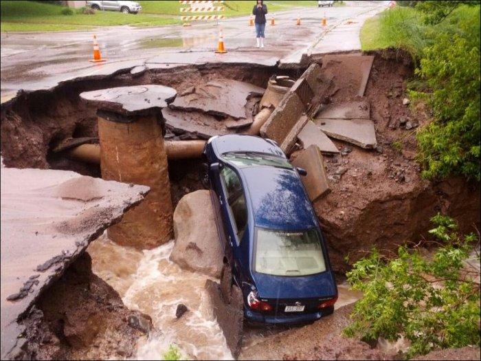 Наводнение в штате Миннесота (21 фото)