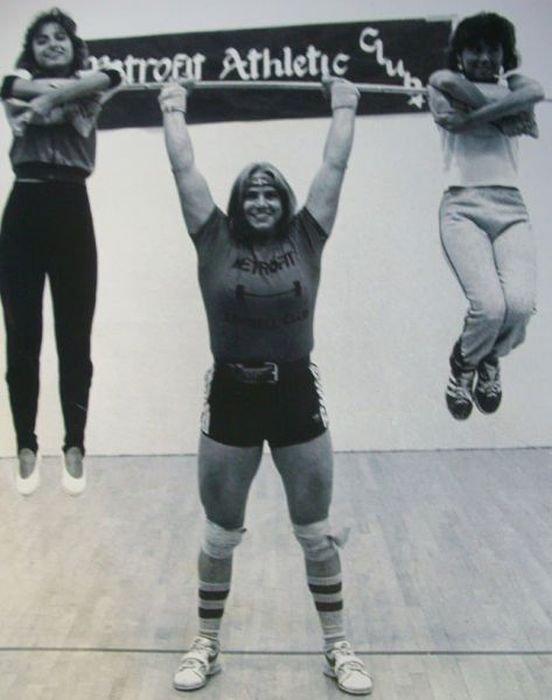 Сильные девушки (40 фото)