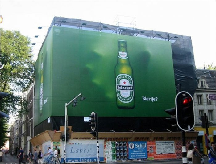 Креативная реклама на билбордах (43 фото)