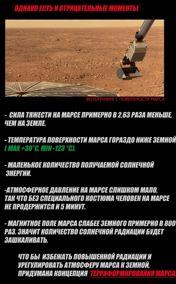 Проект колонизации Марса (7 фото)