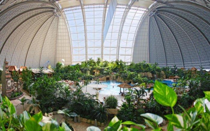 Тропический рай в Германии (8 фото)