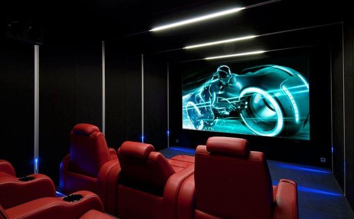 Домашние кинотеатры (20 фото)