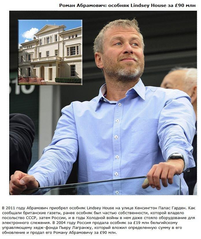 Особняки российских олигархов (6 фото)