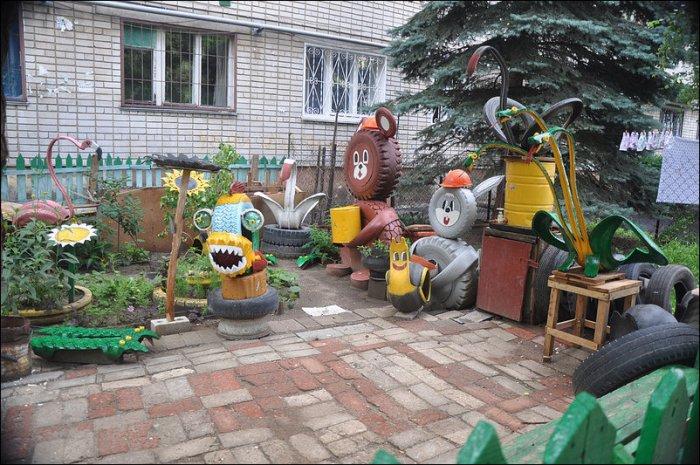 Необычная детская площадка (13 фото)