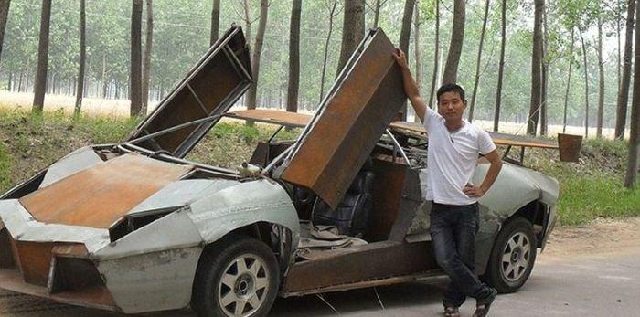 Lamborghini своими руками (5 фото)