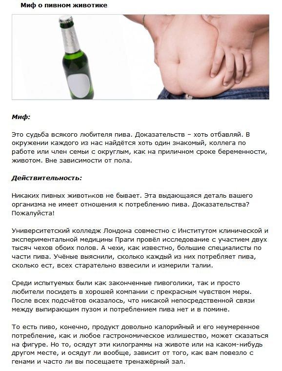 Мифы об алкогольных напитках (4 фото)