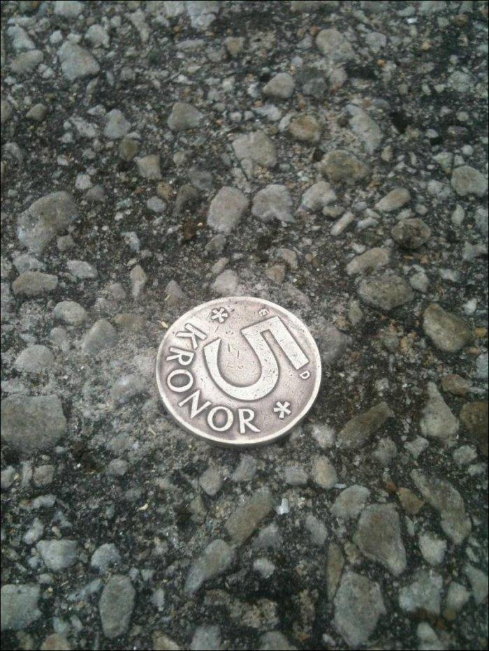 Розыгрыш с монетой (11 фото)