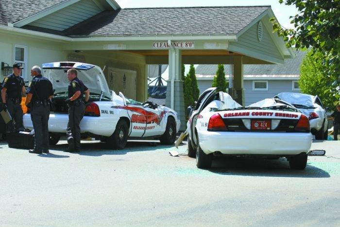 Месть полиции (11 фото)