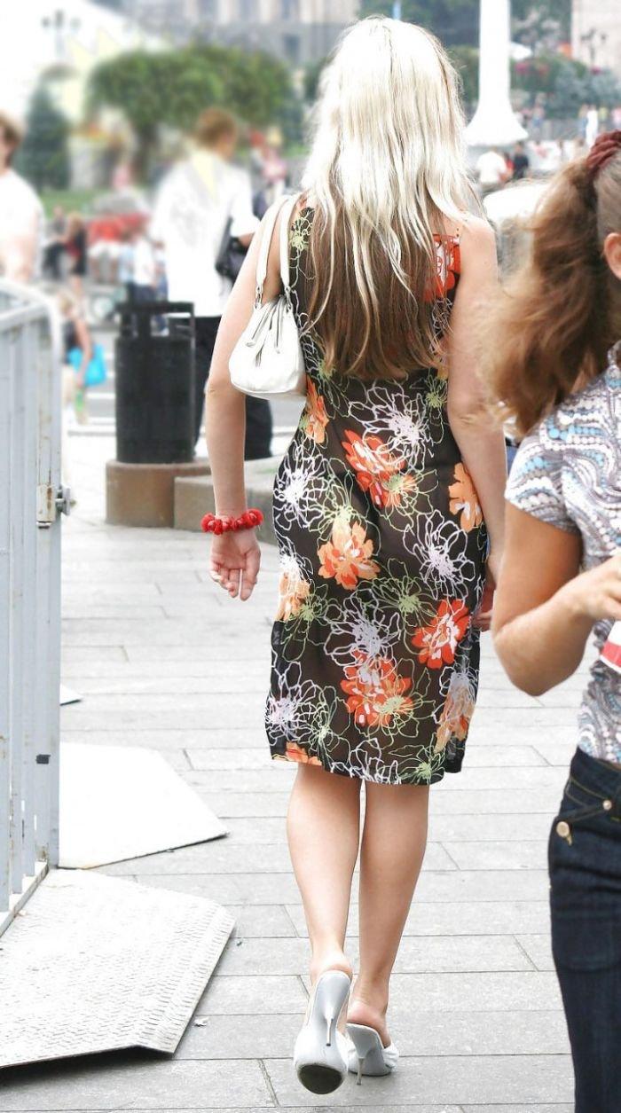 Оригинальное платье (4 фото)