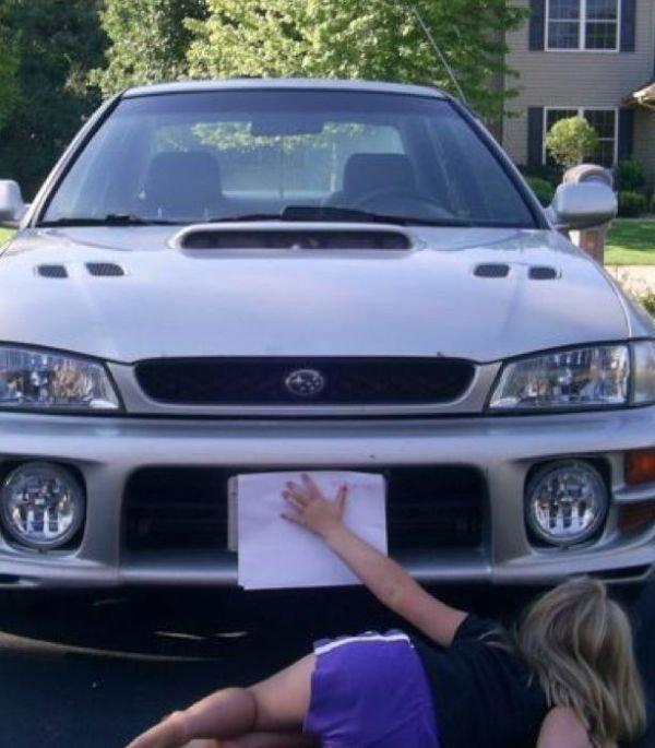 Как скрыть номера на машине без фотошопа (7 фото)
