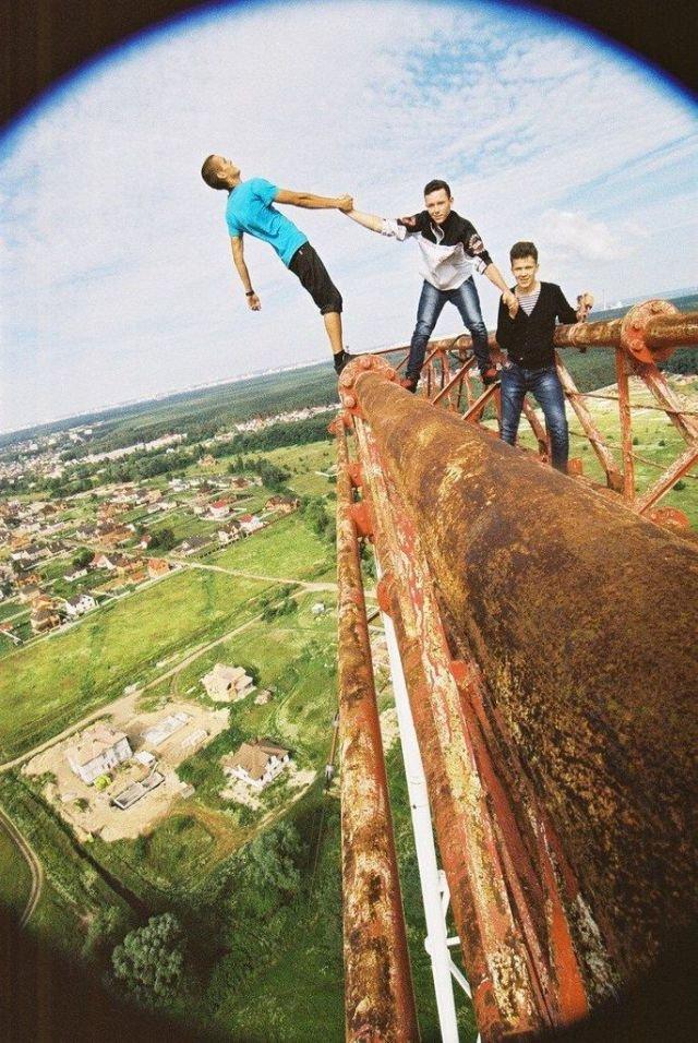 Киевский экстремал (40 фото)