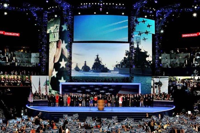 Ляп на съезде Демократической партии США (5 фото)
