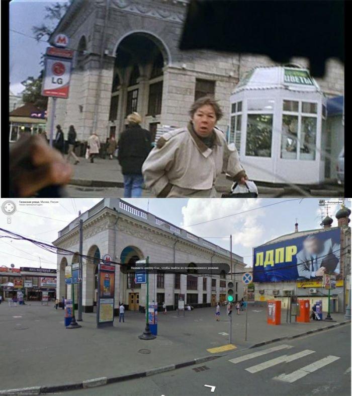 Места из фильма Брат 2 на Google Maps (25 фото)