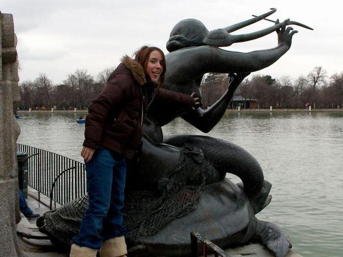 Загонные фотографии со статуями (73 фото)