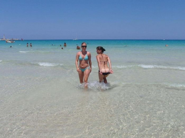 Девушки на пляже (62 фото)
