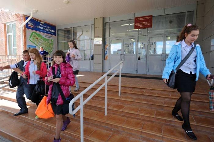 Новая школа в Мытищах (39 фото)