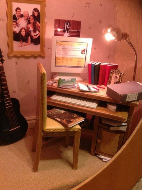 Необычная комната (3 фото)