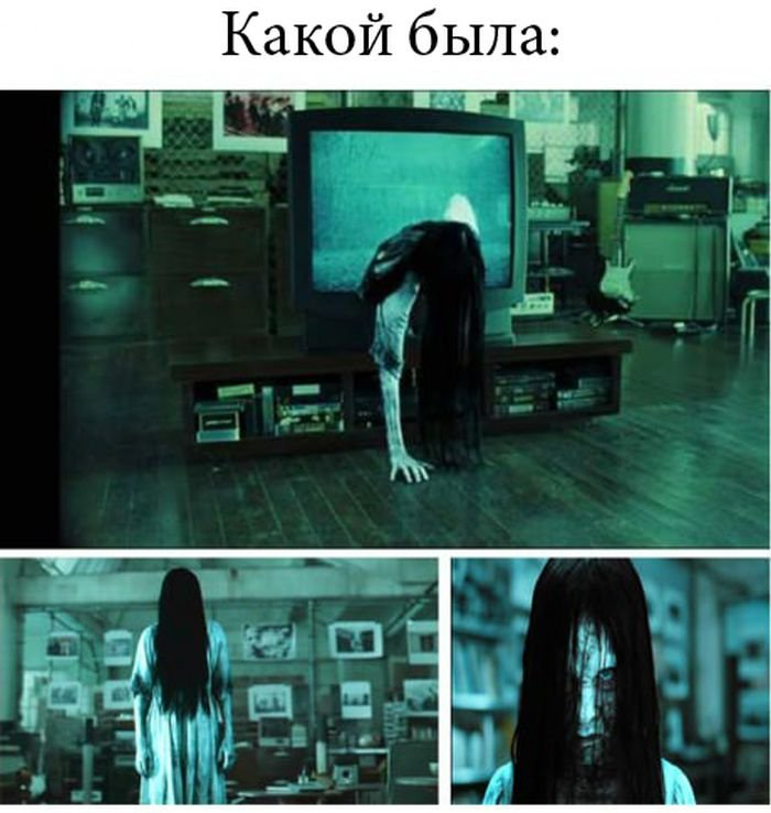 Как выглядит девочка из фильма Звонок (2 фото)