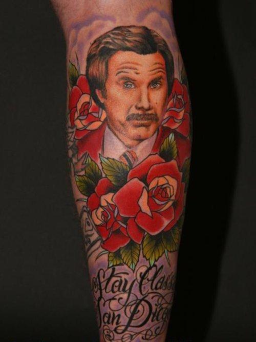 Необычные татуировки (27 фото)