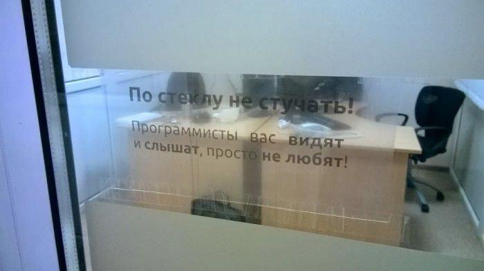 Загонные объявления и надписи (48 фото)