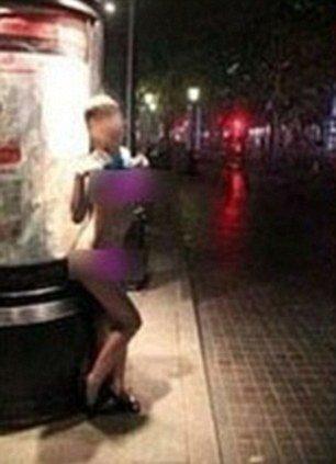 Призрачная стриптизерша в Шанхае (6 фото)