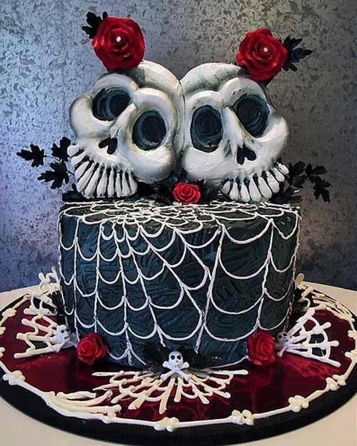 Необычные торты на Хэллоуин (20 фото)