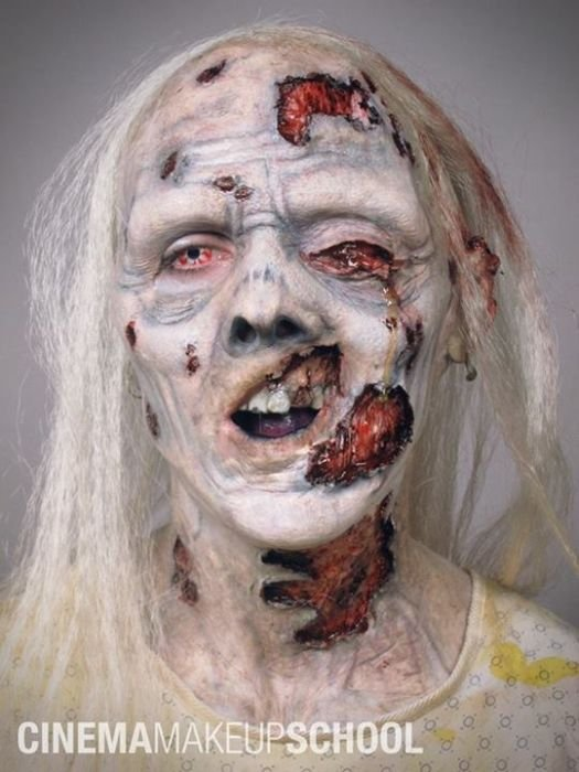 Грим для фильмов ужасов (41 фото)