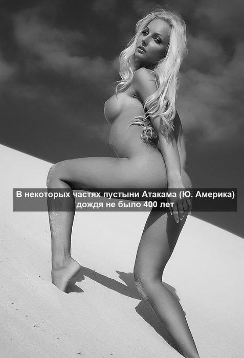 Интересные факты на фоне красивых девушек (75 фото)