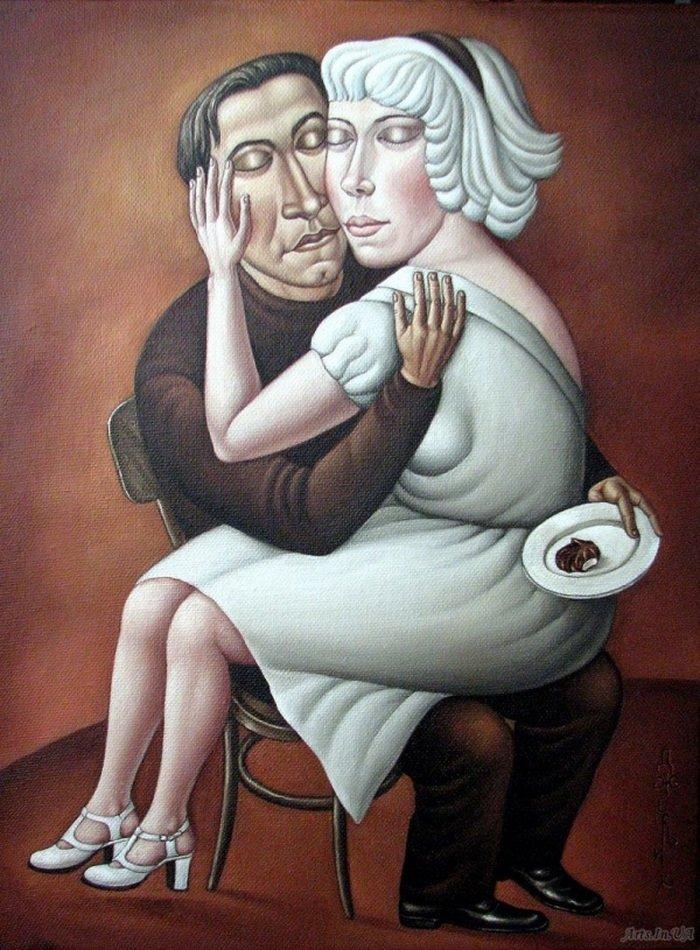 Рисунки Анжелы Джерих (22 фото)