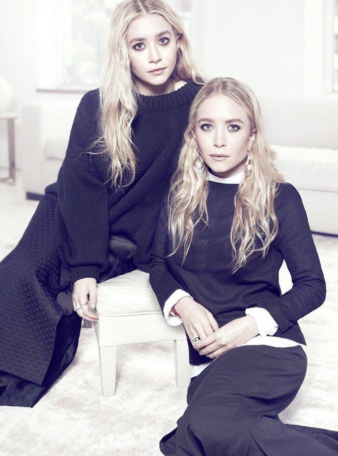 Мэри-Кейт и Эшли Олсен (7 фото)