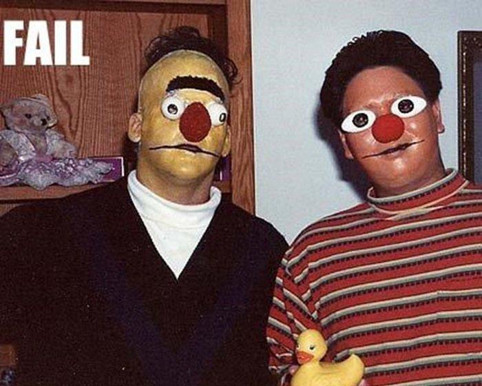 Неудачные костюмы для Хелоуинна (26 фото)