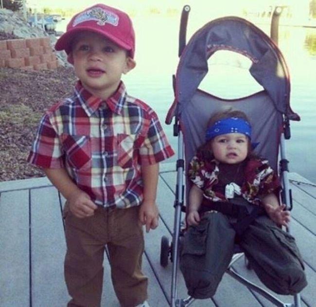 Детские наряды на Хэллоуин (30 фото)